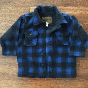 Boys OshKosh Flannel Coat